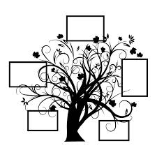 l arbre a cadre arbre cadre photo stickers en folie