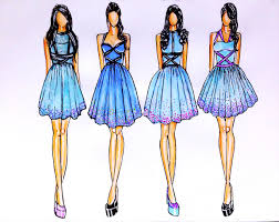 Before The Fabric Was Cut Out Detailed Ideas About Clothes Are Already Expressed In A Drawing Or Commonly Called Fashion Design Sketches