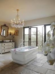 Chandelier Over Bathtub Soaking Tub by Figuring A Chandelier In The Bathroom Joseph Episcopo U0026 Sons