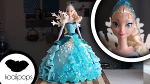 How to Make a Frozen Elsa Cake