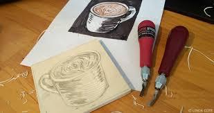 LINDA COTE Latte Carving