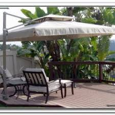 Offset Rectangular Patio Umbrellas by Offset Rectangular Outdoor Umbrellas Patios Home Design Ideas