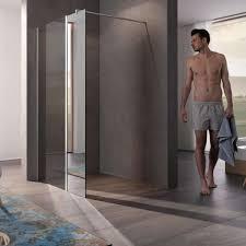 dusche ohne tür verbleibende wand muss lang genug sein wohnen