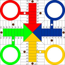 Parchis Board By Jantonalcor A Game On Openclipart AKA Ludo