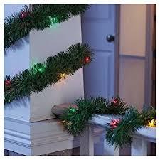 Philips Pre Lit Christmas Tree Replacement Bulbs by Amazon Com Philips Pre Lit Garland Multi Lights 18 U0027 Home