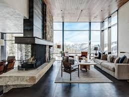 Rustic Contemporary Living Room, Luxury Mountain Homes ... House Plan Mountain Home Interior Design Sensational Charvoo Moonlight Montana Expressions Modern With Striking Details In Martis Camp Best 25 Home Interiors Ideas On Pinterest Log Homes Images Image B 11775 Ideas For Pleasing Hospality Decor Tastefully With Scenic Views By Kevin Howard Architects Hendricks Architecture Idaho