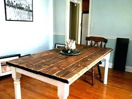 Easy Dining Table Plans Rustic Room Tables Build