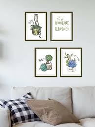 pflanze wandtattoo