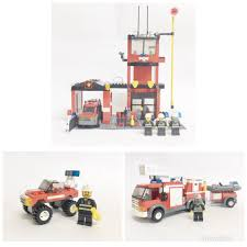 Lego City 7239 Fire Engine 7240 Fire Station 7241 Fire Chief Car ... Bricktoyco Custom Classic Style Lego Fire Station Modularwith 3 Ideas Product Ideas Truck Tiller Lego City Pumper Truck Made From Chassis Of 60107 Light Sound Ladder Cute Wallpapers Amazoncom City 60002 Toys Games Juniors Emergency Walmartcom Fire Truck Youtube Big W City 4208
