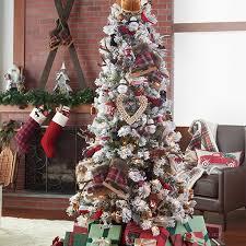 Saran Wrap Christmas Tree With Ornaments by Christmas Decorations Holiday Decorations U0026 Decor Kohl U0027s