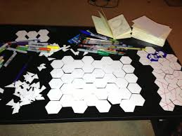 Making 3d Dungeon Tiles by Mocking Up Hexagon Tiles For A Dungeon Map Building Game