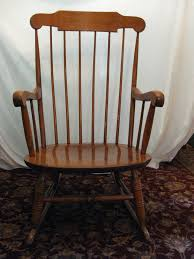 Nichols And Stone Windsor Armchair by Nichols U0026 Stone Co Gardner Massachusetts Rocking Chair Ebay