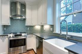 traditional kitchen with white cabinets concerto quartz counters