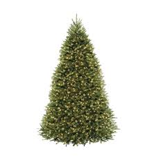 9 Ft Pre Lit Christmas Trees by National Tree Company 9 Ft Pre Lit Dunhill Fir Hinged Artificial