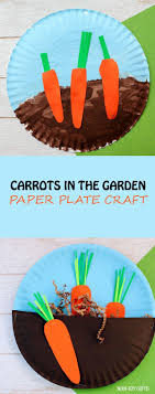 Simple Crafts For Toddlers And Preschoolers Vegetable Ideas Carrot Craft Fru On Rainbow Train