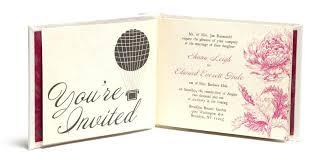 Wedding Invitation Booklet Creative Book Custom Rustic