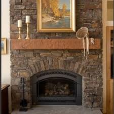 decor u0026 tips inspiring stone fireplaces with shelves and mantle