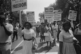 Civil Rights March On Washington DC
