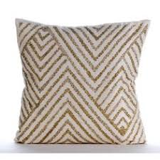 Decorative Couch Pillow Covers by Black Decorative Throw Pillow Case Gold Bead Pillow By Amorebeaute