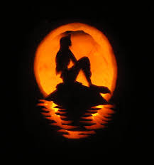 Nerdy Pumpkin Carving by Little Mermaid Pumpkin Carving Travel Pinterest Pumpkin