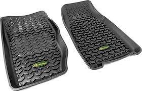 any using the rugged ridge front floor mats for their xj