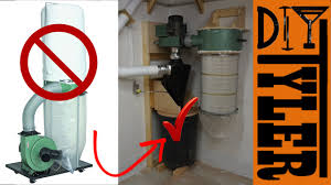 2 Stage Harbor Freight Dust Collector - YouTube Dust Collection Fewoodworking Woodshop Workshop 2nd Floor Of Garage Collector Piping Up The Ductwork Youtube 38 Best Images On Pinterest Carpentry 317 Woodworking Shop System Be The Pro My Ask Matt 7 Small For Wood Turning And Drilling 2 526 Ideas Plans