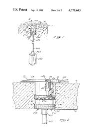 Hubble Poke Through Floor Boxes by Patent Us4770643 In Floor Fitting Google Patents