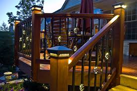 Solar Lights For Deck Stairs by Amazingdecklightingideas In A Deck Lighting