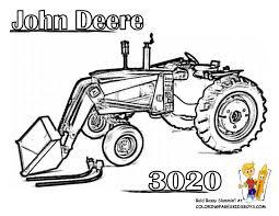 Coloriage Tracteur Agricole A Imprimer