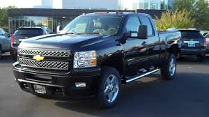 100 2013 Chevy Trucks Chevrolet Silverado Ext Cab 2500 LTZ Black Burns Chevrolet