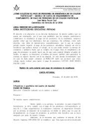 Ejemplo De Telegrama