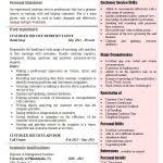 Customer Service Resume Template 2017 Skills Examples For Good On Templates
