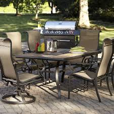 Jacqueline Smith Patio Furniture by Jaclyn Smith Brookner Dining Table Limited Availability Shop