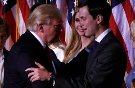Donald Trump Has Taken The Unprecedented Step Of Requesting His Son In Law Jared Kushner Receive Top Secret Clearance To Join Him For Presidential