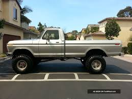 100 1976 Ford Truck F250 4x4 Beast 6 Inch Lift 360 V8 Automatic 4 Bbl Carb