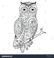 Bird Coloring Book Pdf Angry Birds Sheets Printable Hummingbird Stock Vector Owl Adults Illustration Anti Stress