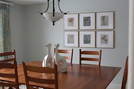 Six Panel Wall Art For Dining Area Wooden Frame Simple And Modern Decor Incredible Styling White