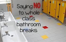 Bathroom Pass Ideas For Kindergarten by Saying No To Whole Group Bathroom Breaks Mrs Pauley U0027s Kindergarten