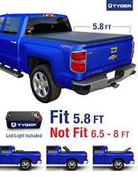 Amazon Tyger Auto TG BC3C1006 TRI FOLD Truck Bed Tonneau