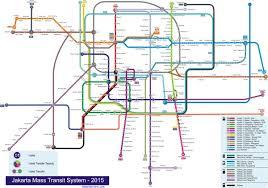 Fullsize Jakarta Bus System Map