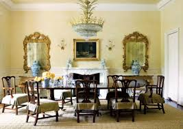Formal Dining Room Wall Art Trends And Images Walls Chippendale Chair Gilded Mirrors