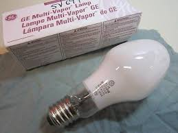 new ge metal halide mvr175 u m57 e multi vapor l bulb light 175