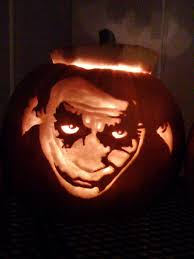 The Joker Pumpkin Stencil by The Joker Dark Knight Carved Pumpkin Halloween Pumpkin Carving