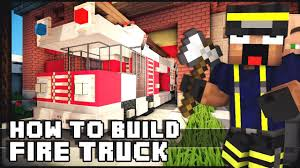▻ Minecraft : How To Make - Fire Truck - YouTube