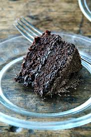 This double chocolate cake is made with buttermilk magic oil as