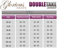 ann chery size chart shapewear u0026 waist cincher size chart