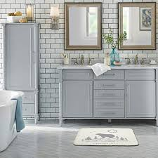 maschinenwaschbar fußmatte boden 3 farben küche badezimmer