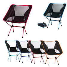 Outdoor Folding Chairs Portable Moon Leisure Beach Seat With ...