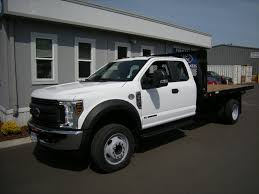 New 2018 Ford F-450 Super Cab, Platform Body | For Sale In Portland, OR