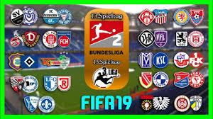 2 Und 3Liga Spieltag 13 15 I FIFA 19 Prognose I 201819